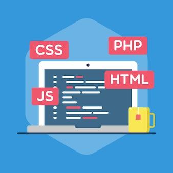 Illustration de programmation web