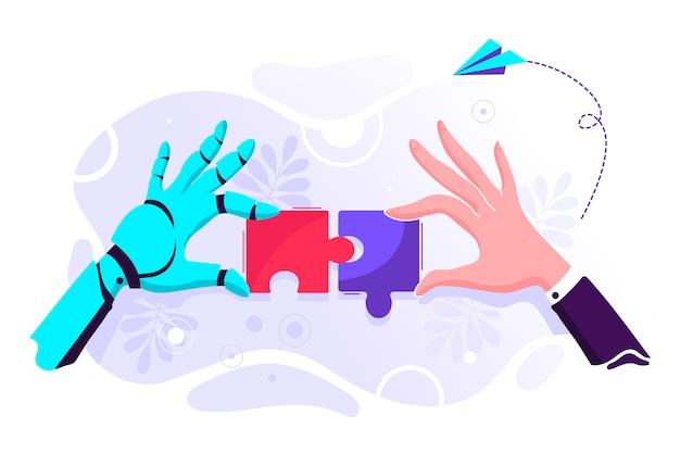 Illustration de puzzle