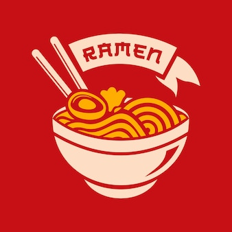 Illustration de ramen