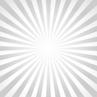 Illustration des rayons de soleil gris