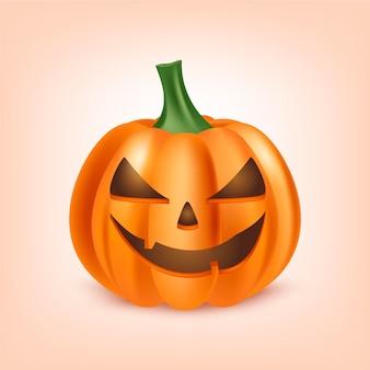 Illustration réaliste de citrouille d'halloween