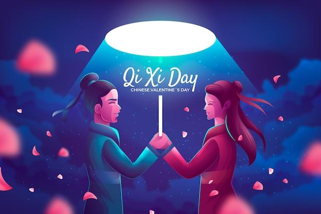 Illustration réaliste du jour qi xi