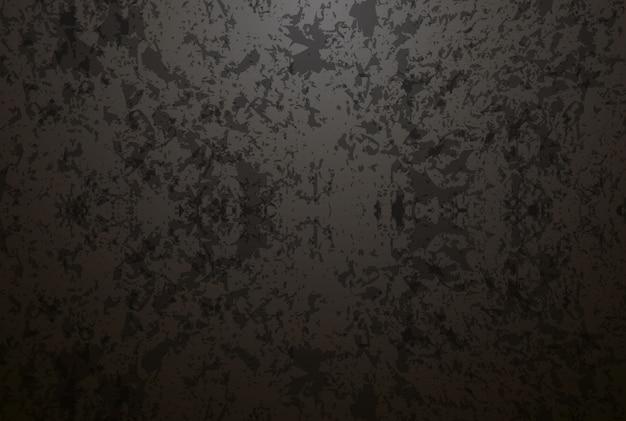 Illustration réaliste de grande bannière de texture en métal zinc