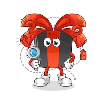 Illustration de recherche de vendredi noir. personnage