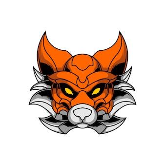 Illustration de renard épique