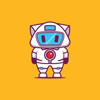 Illustration de robot kitty
