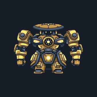 Illustration de robot mecha