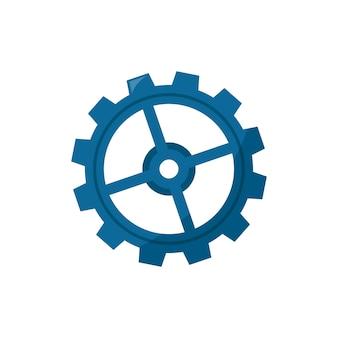 Illustration d'une roue dentée