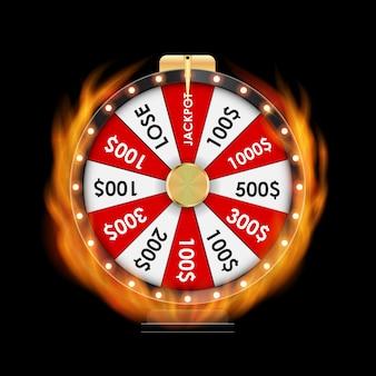 Illustration de la roue de la fortune