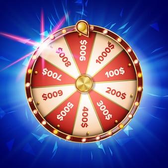 Illustration de la roue de fortune