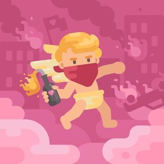 Illustration saint valentin