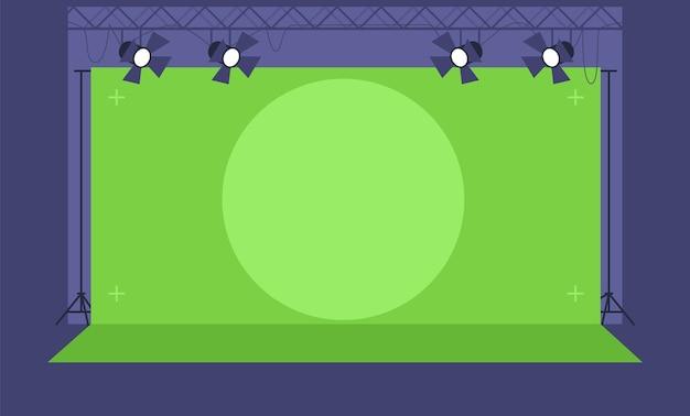 Illustration semi-plate de technologie de suivi de mouvement