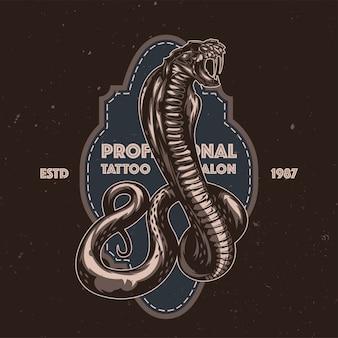 Illustration de serpent