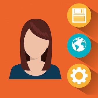 Illustration des services technologiques