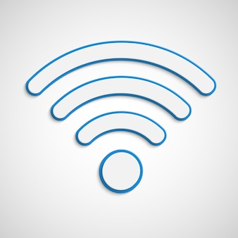 Illustration de signal wifi