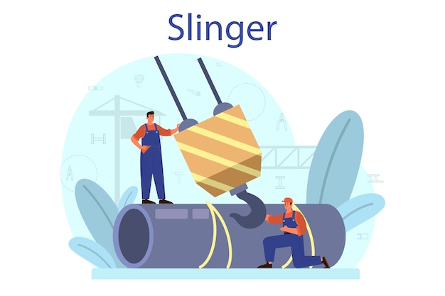 Illustration de slinger