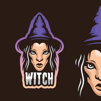 Illustration de la sorcière