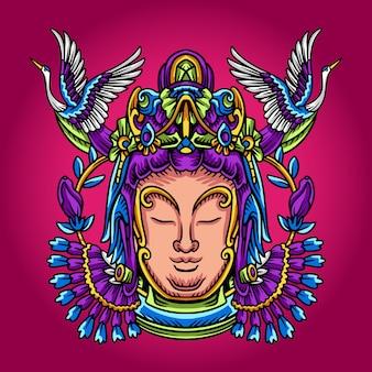 Illustration de la statue chinoise