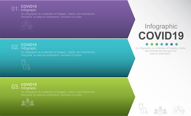Illustration de stock d'infographie sur la prévention du coronavirus coronavirus 2019ncov