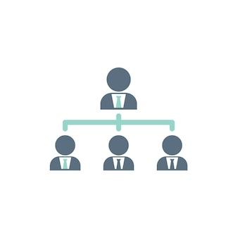 Illustration de la structure de l'équipe d'affaires