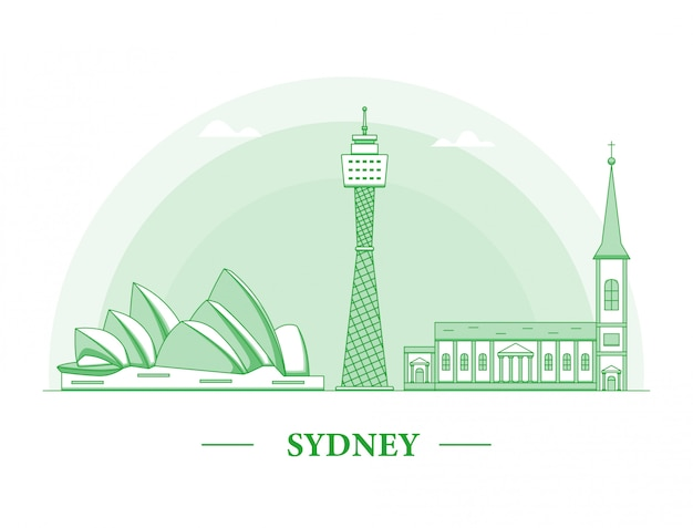 Illustration de sydney city line