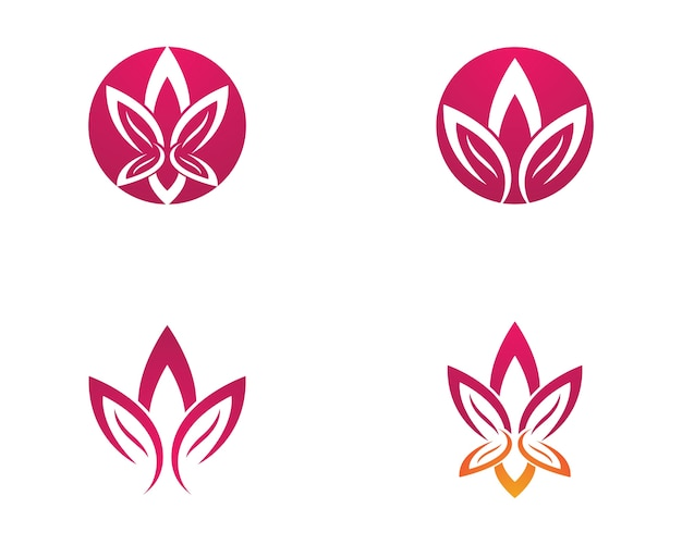 Illustration de symbole de lotus