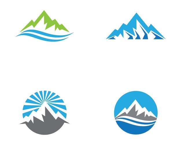 Illustration de symbole de montagne