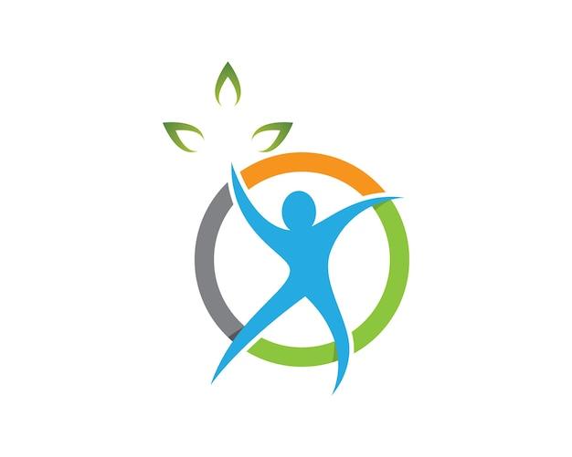 Illustration de symbole santé humaine