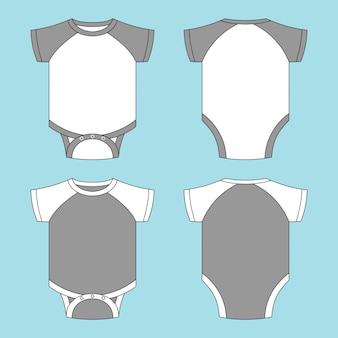 Illustration de t-shirt bébé