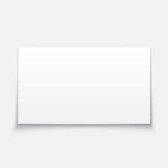 Illustration de tableau blanc vierge.