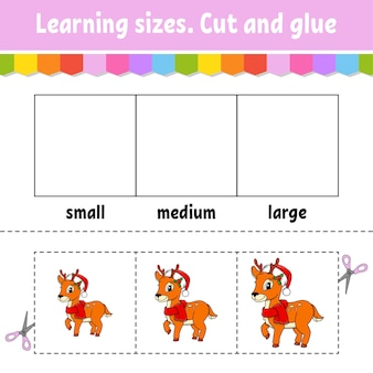 Illustration des tailles d'apprentissage