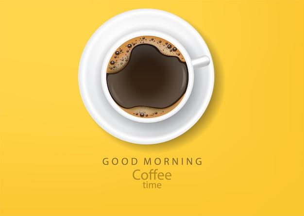 Illustration de tasse de café réaliste