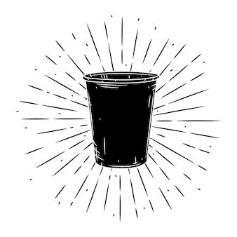 Illustration de tasse de café