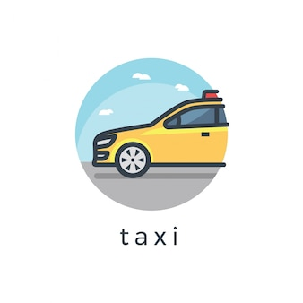 Illustration de taxi