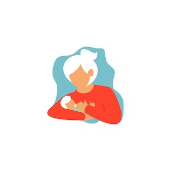 Illustration de la technique d'allaitement