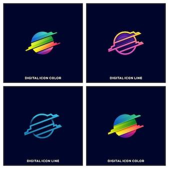 Illustration de la technologie du cercle