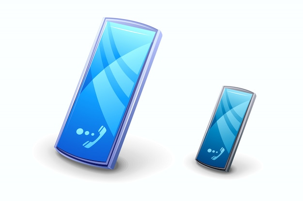 Illustration de téléphone portable