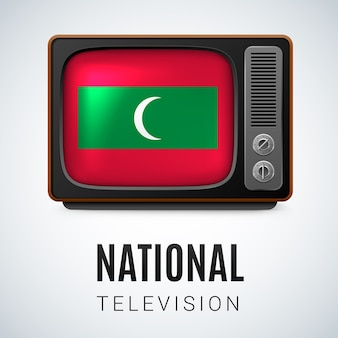 Illustration de la télévision nationale