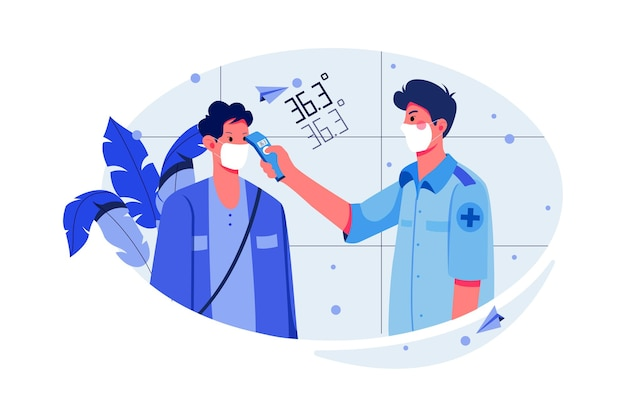 Illustration des tests médicaux