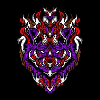 Illustration de tiger zea