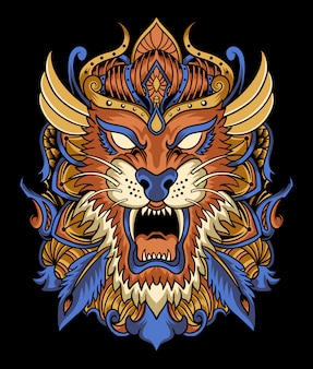 Illustration de tigre