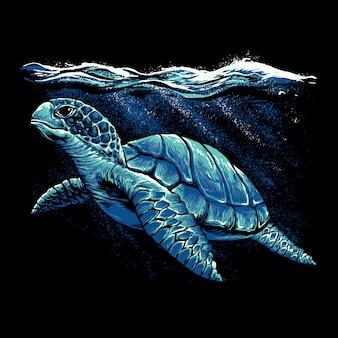 Illustration de tortue