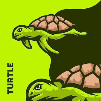 Illustration de la tortue