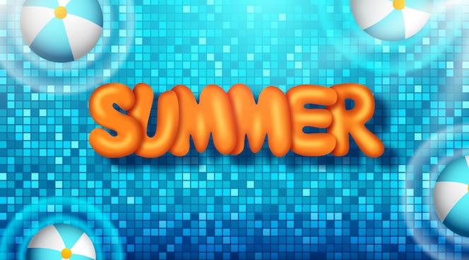 Illustration de vacances d'été