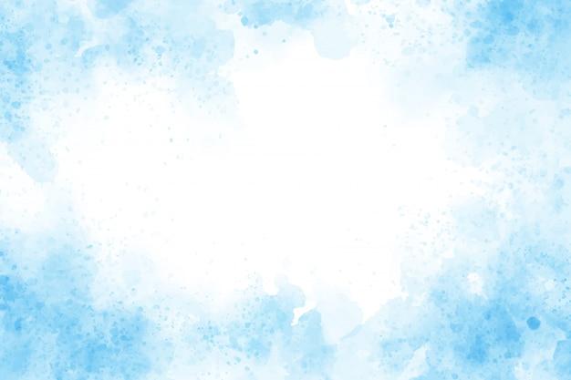 Illustration de vecteurs eps10 fond bleu aquarelle splash