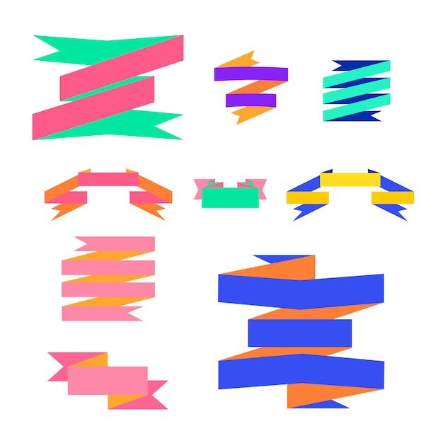 Illustration de vecteurs étiquette ruban