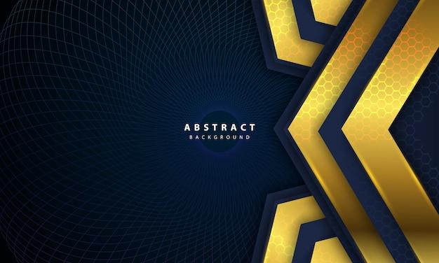 Illustration vectorielle abstraite sombre de fond de luxe