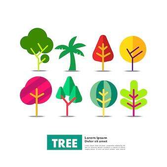 Illustration vectorielle d'arbre