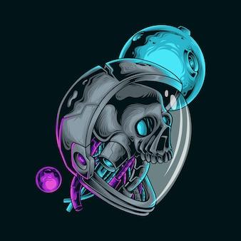 Illustration vectorielle astronaute