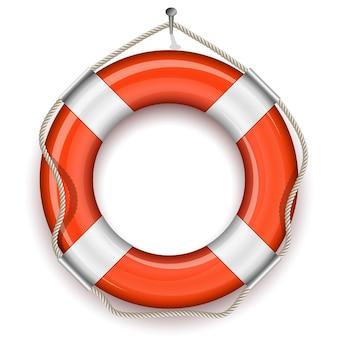 Illustration vectorielle de bouée de sauvetage